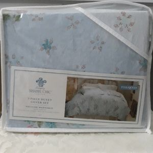 Simply shabby chic queen size duvet and shams